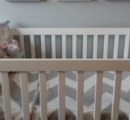 An infant killed alone at home