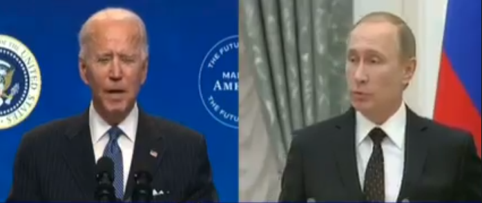 There are already sharp differences between Biden and Putin