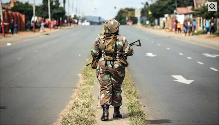 Muslim women in South African army allowed to wear hijab