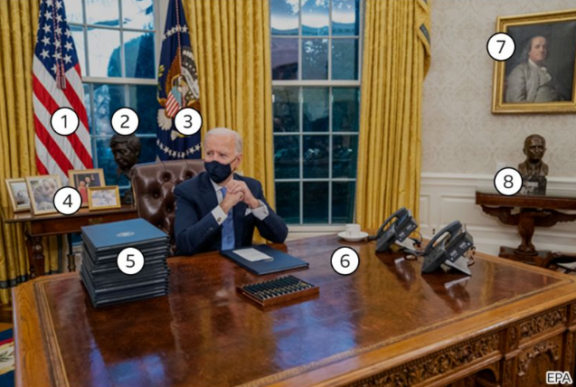 Oval Office Renovation: How Different Is Biden's Office From Trump's Office?