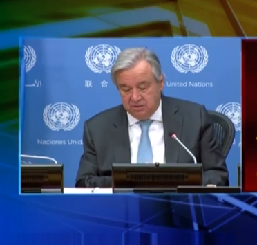 Pak-India military confrontation will be a disaster for the world: UN Secretary General