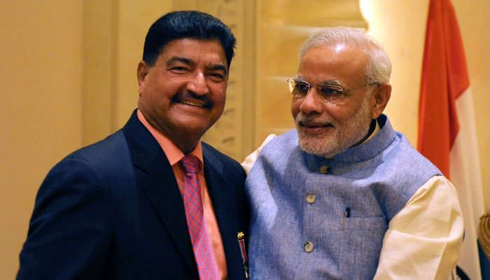 Order to freeze the assets of Modi's business friend