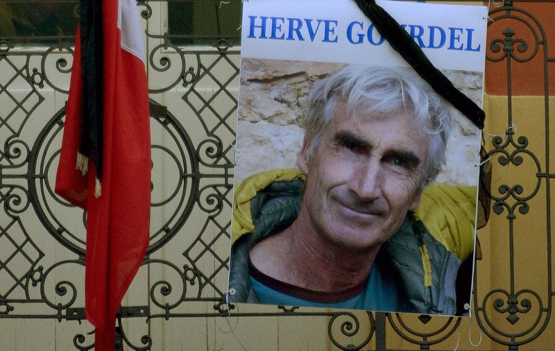French mountaineer killed, ISIS members executed