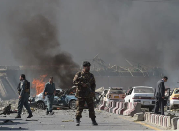 Three people were killed and several others were injured in a series of bomb blasts in different cities of Afghanistan