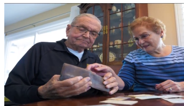 The lost wallet of a US Navy officer in Antarctica was found 53 years later