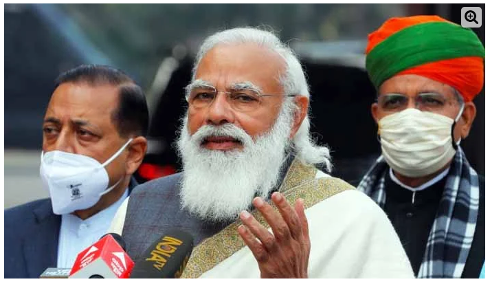 Farmers' protest causes disgrace to country: Modi