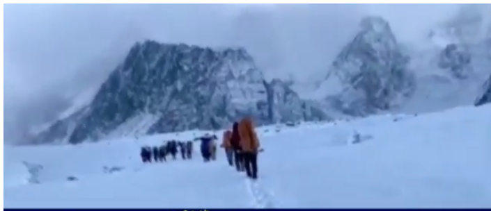 Accident during the adventure to climb the world's second highest peak