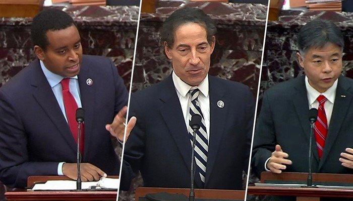 Impeachment proceedings, Trump's defense team completes arguments