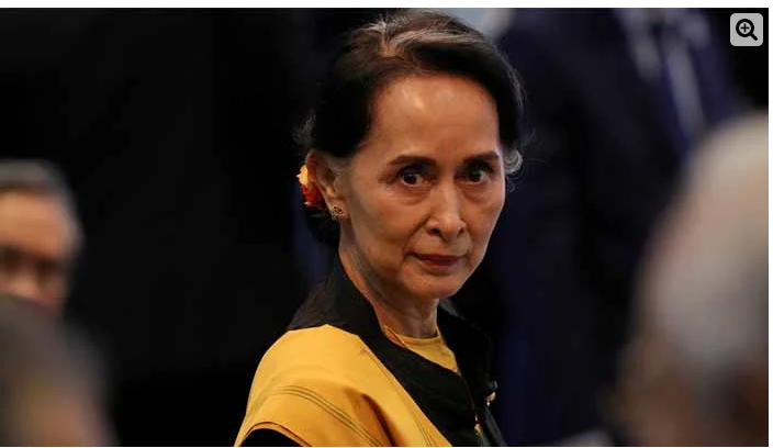In Myanmar, the military seized power, and Aung San Suu Kyi was arrested