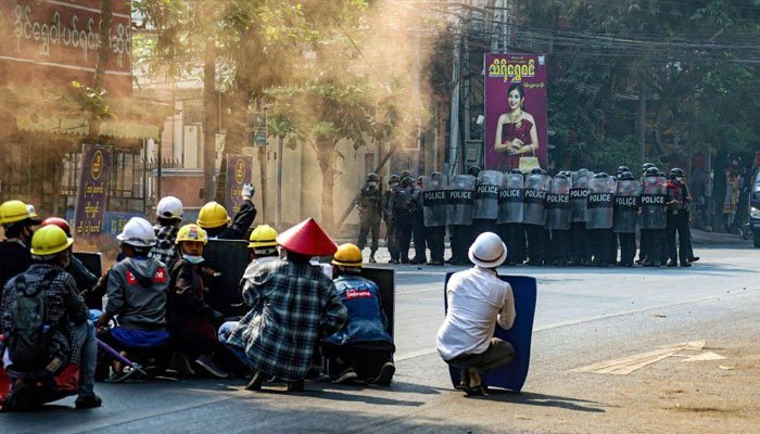 'Bloody day' in Myanmar, 38 people killed protesting against the military coup