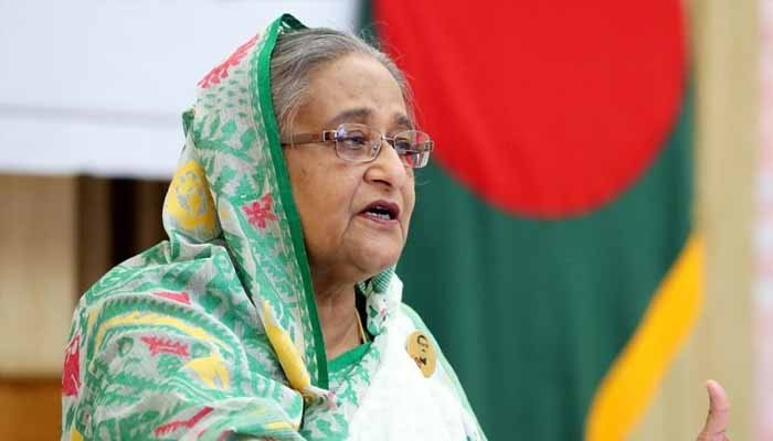 Fourteen people have been sentenced to death for plotting to assassinate Bangladesh's prime minister