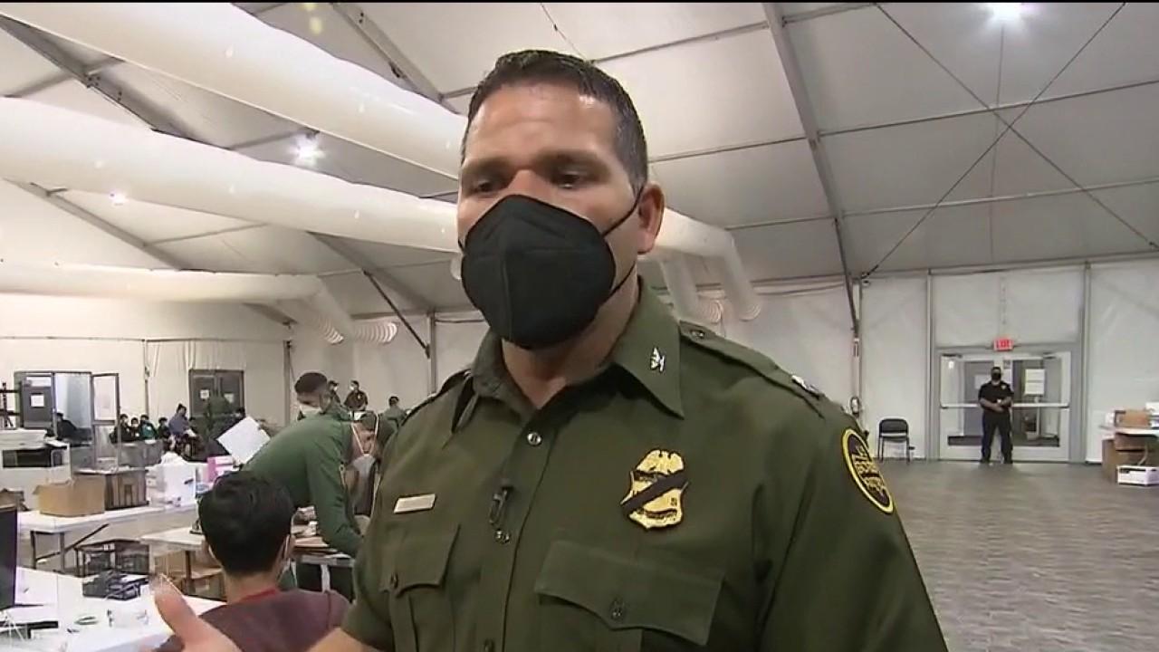 Biden administration allows media into crowded border facility