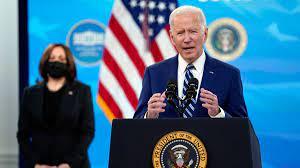 Biden urges state officials to reinstate their mask mandates