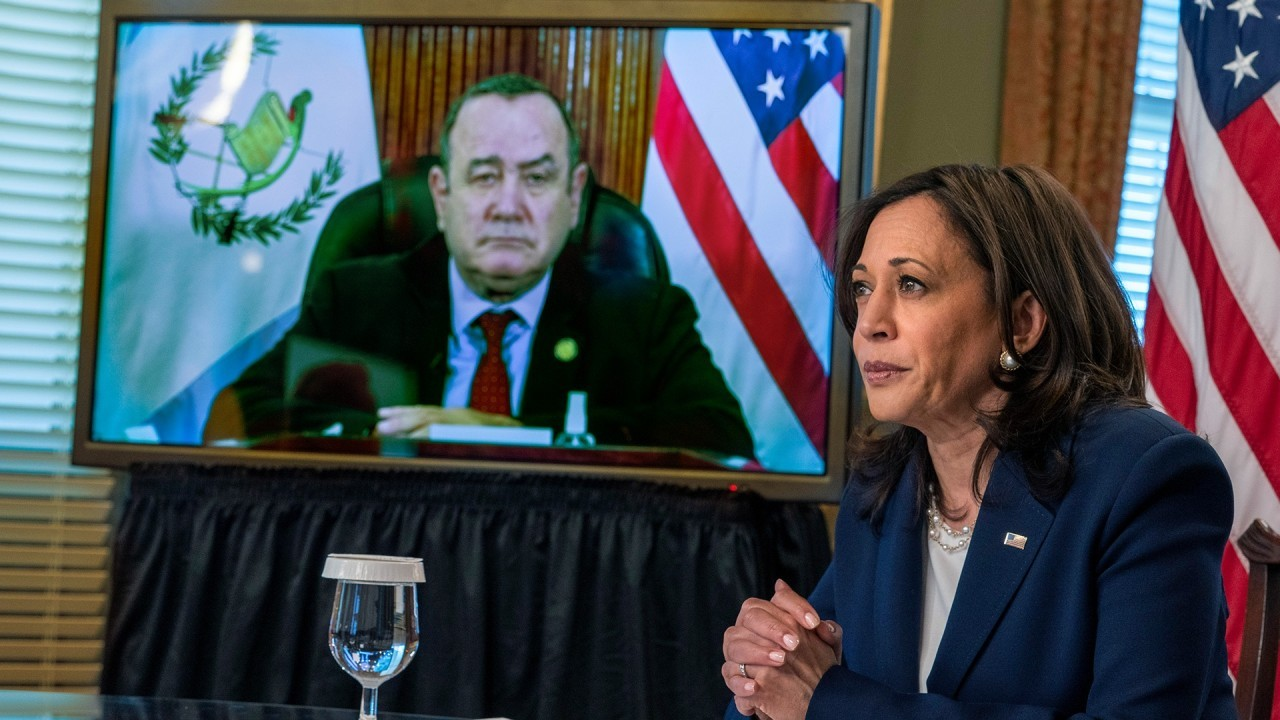 Kamala Harris blames refusal to visit the border on COVID-19
