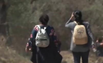 Shocking video released of lost migrant child dumped near Rio Grande