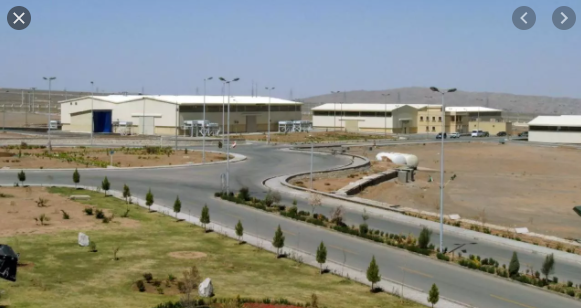 Iran blames Israel for 'sabotage' attack on Natanz nuclear facility