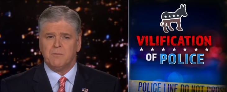 Hannity reacts to media's 'idiotic' suggestions to law enforcement