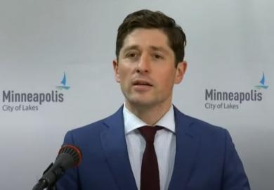 Minneapolis Mayor, Police Chief speak to press following Chauvin verdict