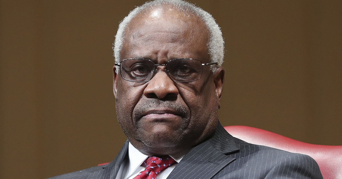 Clarence Thomas calls out 'curious' views of liberal justices