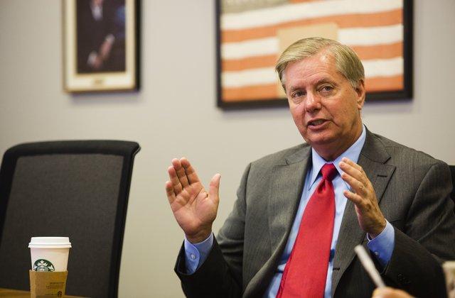 Graham: Joe Biden spends a lot of time running the US 'down'