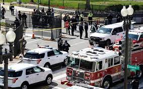 Capitol Police say one officer killed, two in hospital
