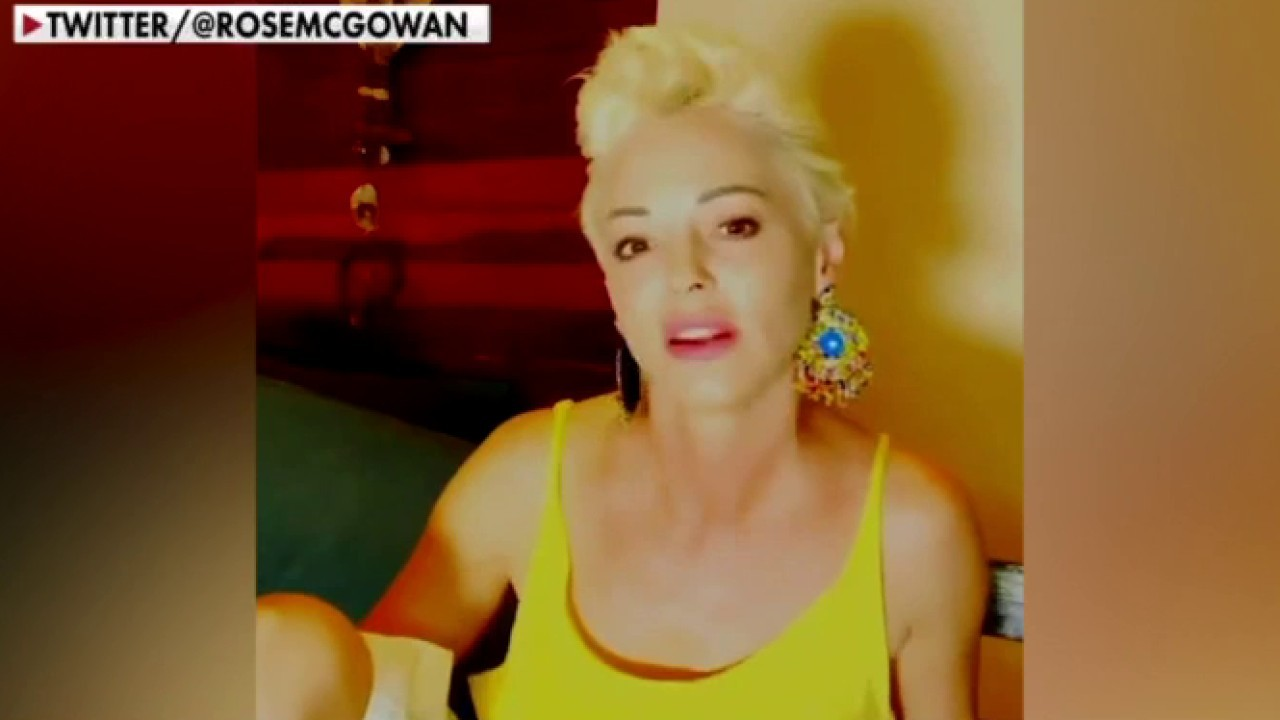 Rose McGowan responds to backlash from FOX News interview