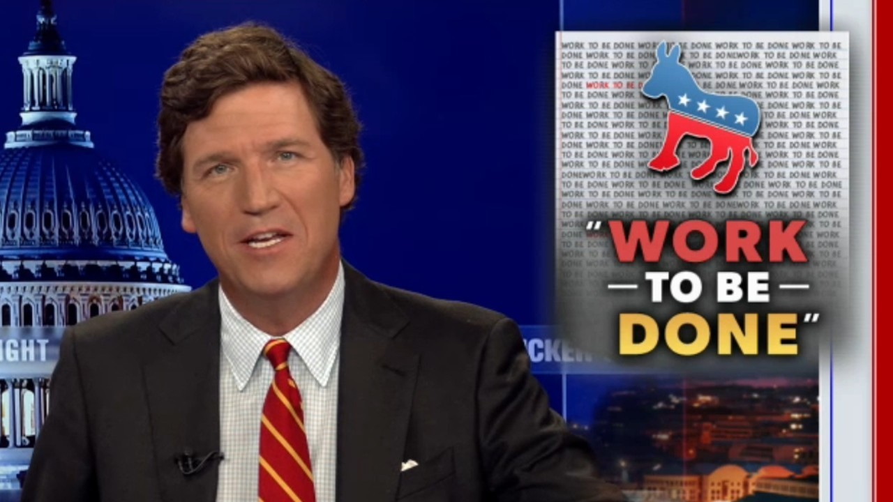 Tucker Carlson reacts to the left's latest catchphrase