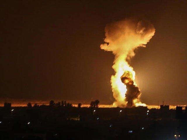 Israeli warplanes bomb Gaza
