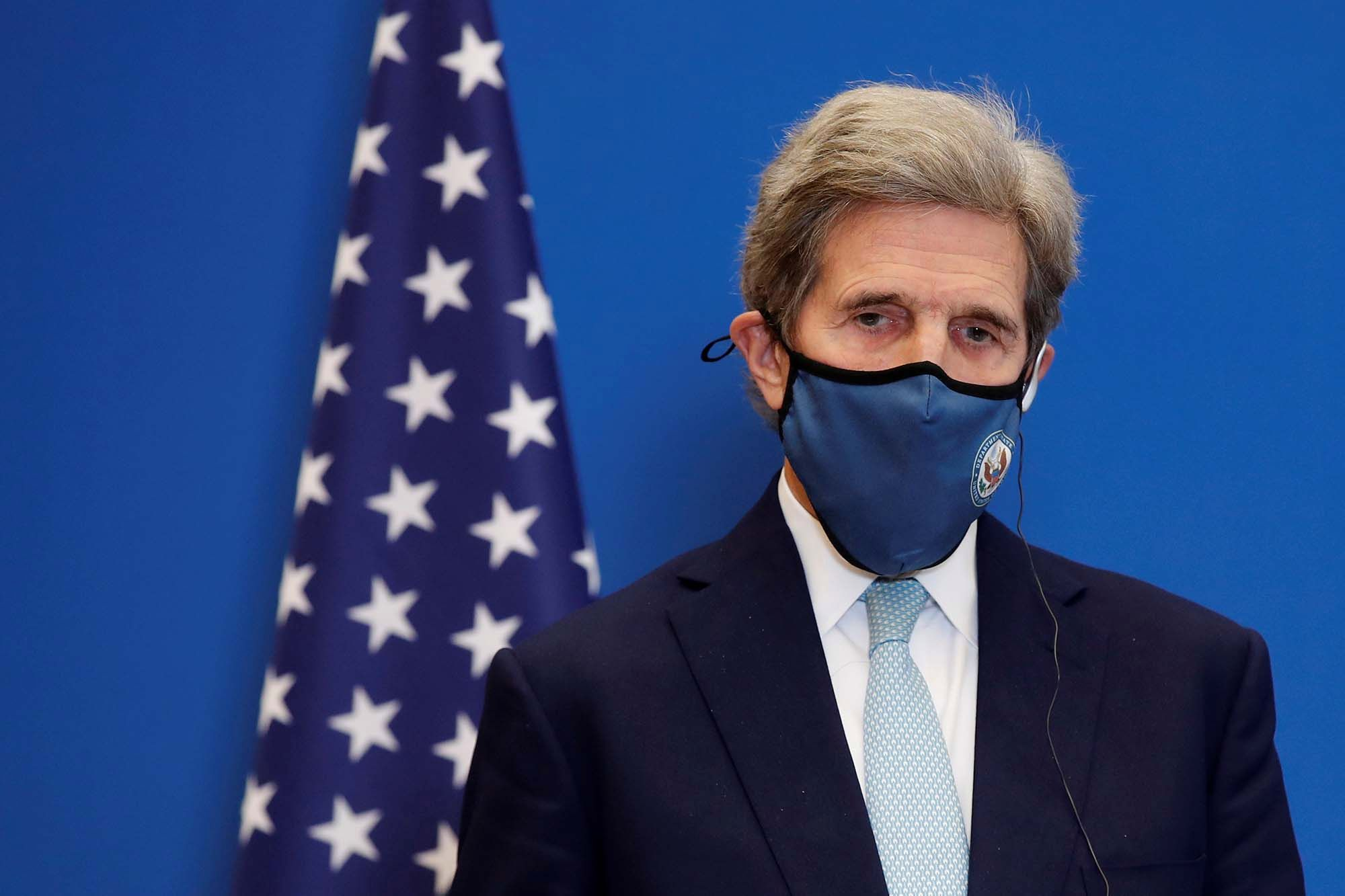 John Kerry 'hopeful' China will help on climate change