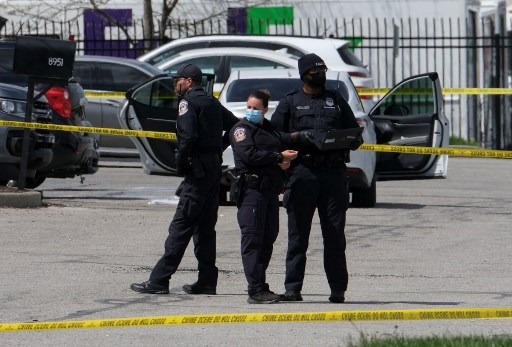 The shooter has been identified in the US city of Indianapolis