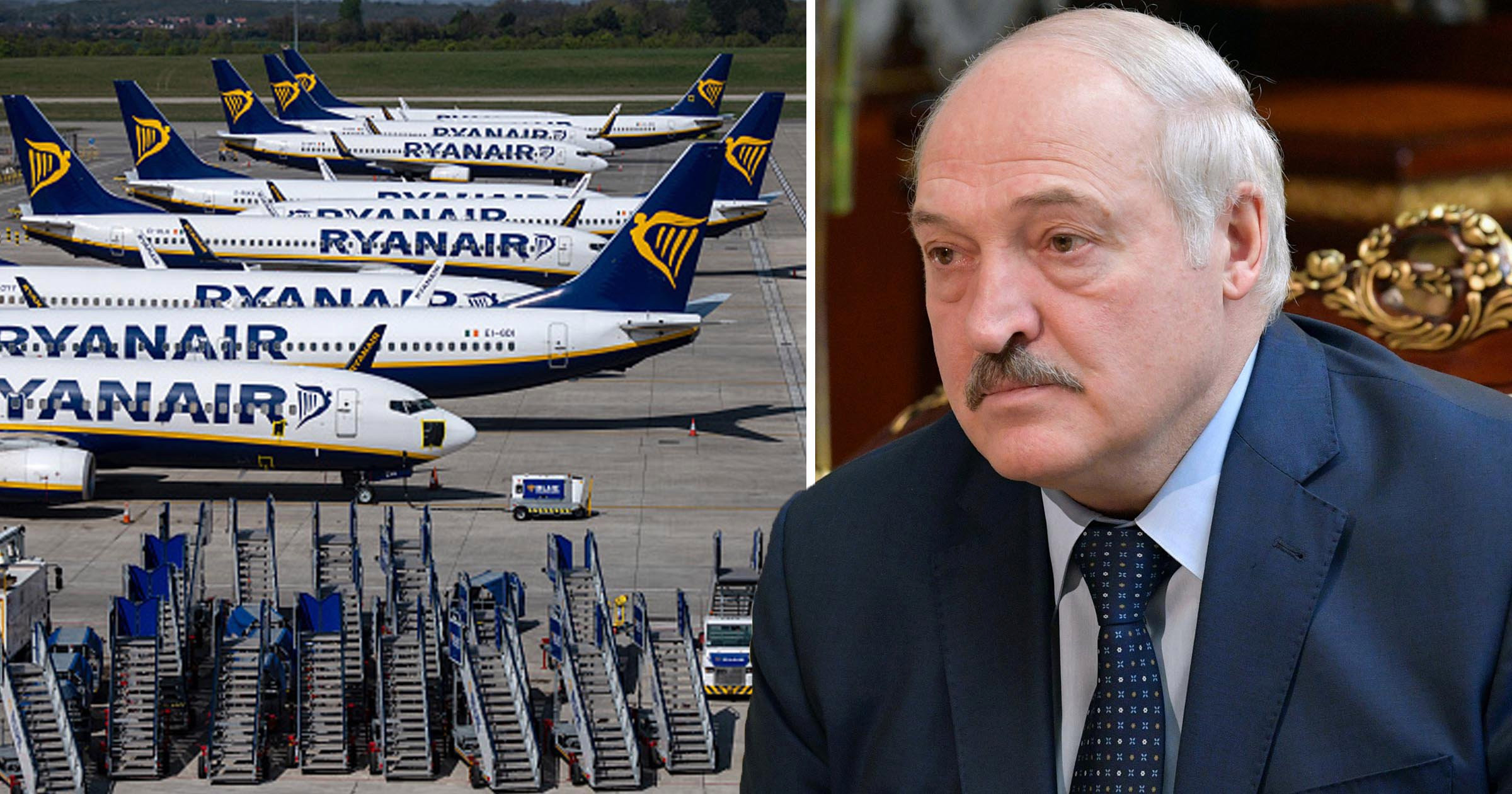 Belarus accused of hijacking Ryanair plane