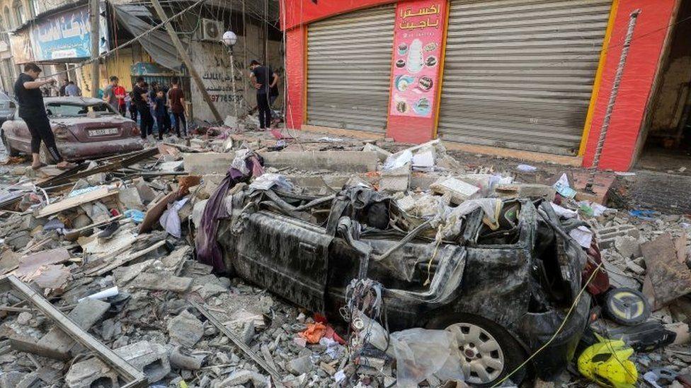 Biden tells Israel: De-escalate Gaza conflict