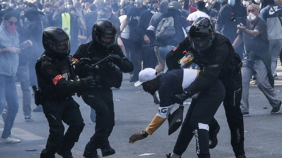 French police accused of violence, brutality and racism