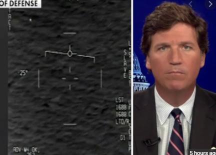 Pentagon whistleblower warns of UFO intelligence failure; Tucker reacts