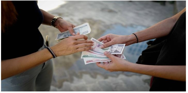 Cuba banks stopped receipt of US dollars