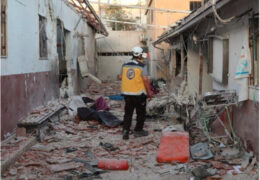 A hospital attack in Syria has killed 13 people and injured several others