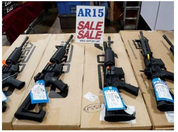 The US state of California has lifted a 30-year arms embargo