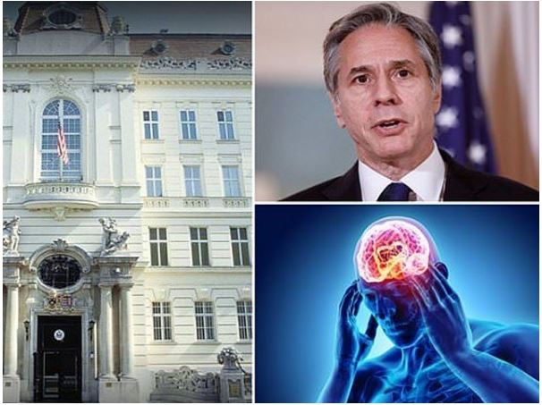 US diplomats stationed in several countries began to suffer from a mysterious mental illness