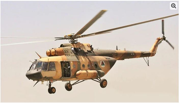 The Taliban have more than 100 Russian military helicopters, Russia claims