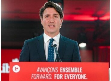Justin Trudeau becomes Prime Minister of Canada for the third time